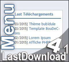 [Menu] LastDownload