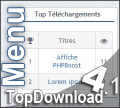 [Menu] TopDownload