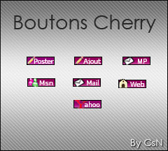 [Boutons] Cherry