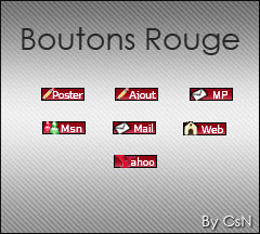 [Boutons] Rouge