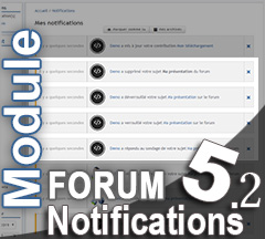 [Module] Notifications Forum