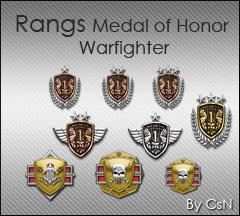 Rang Medal of Honor W.