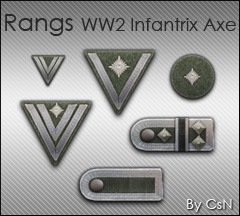 Rang WW2 Infantry Axe